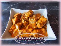 Nattycuisine: Sauté de porc au lait de coco, paprika et gingembre.....