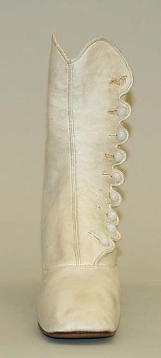 Boots 1863, American, Made of leather