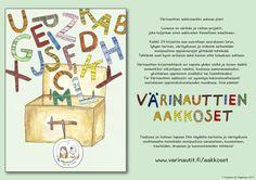 Toiminnallisia, tutkivia ja taiteellisia tehtäviä suomen kielen aakkosiin liittyen!