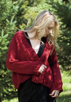 Breezeway Cardigan Pattern - Knitting Patterns and Crochet Patterns from KnitPicks.com