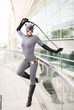 Adrianne Curry as Catwoman from Batman: The Animated Series!