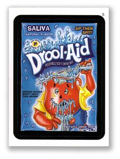 Wacky Packages Topps 6th Series 2007 Sticker: Drool-Aid - #5