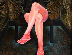 Martine Johanna Paints Pensive Women in Surreal Settings