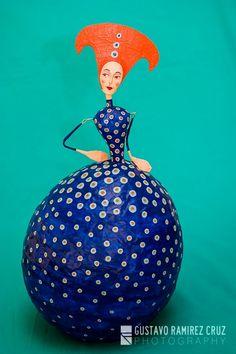 Dolls - Kusama Gustavo Ramirez Cruz Paper Maché Artist♥♥