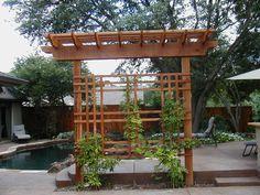 Nice Freestanding Trellis Garden Gates Arbor Landscaping