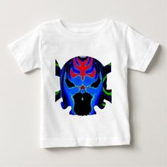 Colourful Skulls gHOSTS Halloween Collection Baby T-Shirt - Halloween happyhalloween festival party holiday