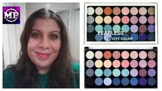 City Color Fearless Eyeshadow Palette | Review and Swatches | Makeup Pri...