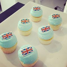 Cupcakes for Prince George! :)