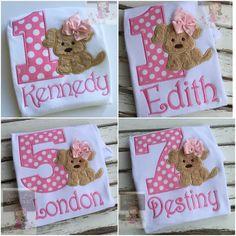 Baby Girl First Birthday Bodysuit or Shirt by DarlingLittleBowShop