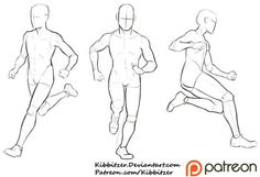 Running Reference Sheet by Kibbitzer on DeviantArt