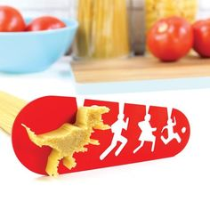I Could Eat a T-Rex Spaghetti Measuring Tool