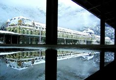 Canfranc train station. Cataluna. Spain