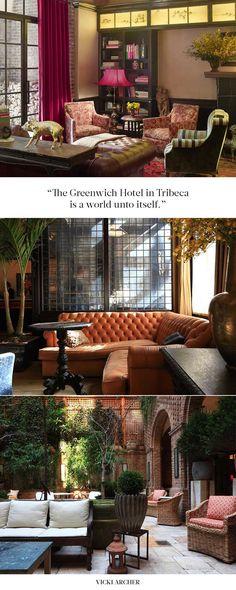 The Greenwich Hotel, Tribeca - Vicki Archer // http://vickiarcher.com/2015/12/the-greenwich-hotel-tribeca/