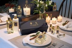 Give her the gift of a Floris fragrance this Christmas.