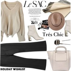 Tres Chic by ansev on Polyvore featuring moda, Topshop, Monies, Bobbi Brown Cosmetics, 2015wishlist and shein