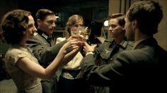 Katharina Schütttler as Greta, Volker Bruch as Wilhelm, Miriam Stein as Charlotte, Tom Schilling as Friedhelm and Ludwig Trepte as Viktor