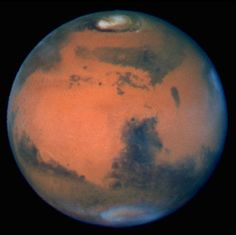 Hubble Images The Sharpest View Of Mars Ever Taken From Earth Was Obtained By The Recently Refurbished Nasa Hubble Space Telescope This Stunning Portrait Was Taken. Telescope Pictures, Hubble Pictures, Hubble Images, Space Planets, Space And Astronomy, Pseudo Science, Science And Nature, Cosmos, Andromeda Galaxy