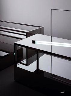 Saint Laurent new store concept by Hedi Slimane, Wallpaper Design award for best re-branding _