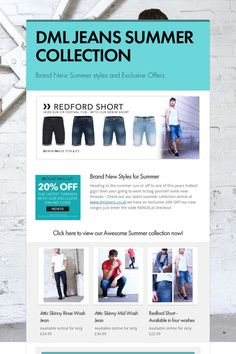 DML JEANS SUMMER COLLECTION