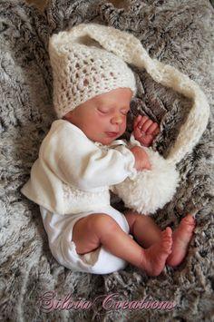 *SILVIACREATIONS* Realborn(R) Thomas asleep,  Bountiful Baby Reborn - Prototype