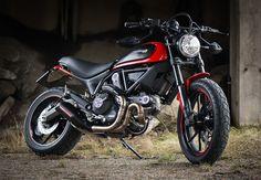 Ducati Scrambler Icon Red/Black