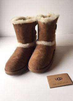 Kaufe meinen Artikel bei #Kleiderkreisel http://www.kleiderkreisel.de/damenschuhe/stiefel/142076827-ugg-boots-neu-original-chestnut-mini