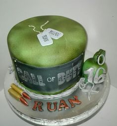 Call of duty cake by Celestial Create