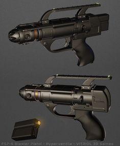 The Hyperventila human blaster pistol Space Fantasy, Fantasy Rpg, Adventure, Explore, Game, Venison, Gaming, Adventure Nursery, Exploring