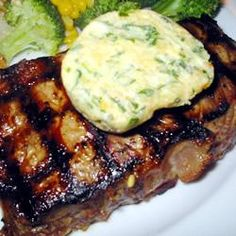 Eye Fillet with Gorgonzola Butter