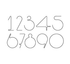 Hurumufu font on the Behance Network in Numbers
