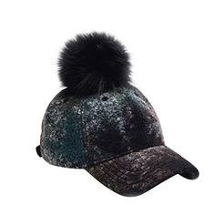 Hatphile Mens Womens Dad Hat Large Tweed Faux Fur Pompom ... https://www.amazon.com/dp/B0777FPG5Q/ref=cm_sw_r_pi_dp_U_x_BKNuAbR9TEXT9