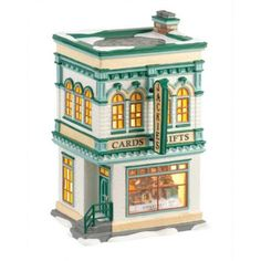 Department 56 Snow Village Jackie's Cards & Gifts Retired 4025317 - Walmart.com