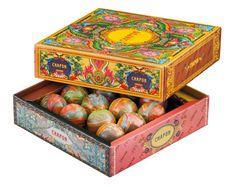 "Chapon (French chocolatier) - box of ""opal"" artisanal chocolates.   Too beautiful to eat IMPDO."