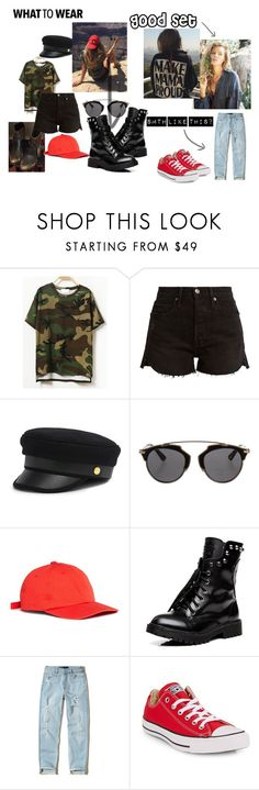 """klarissa"" by milana-james on Polyvore featuring мода, Frame, Henri Bendel, Christian Dior, Studio Concrete, Hollister Co. и Converse"