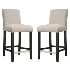 Shop for Ramiro Fabric Upholstered Counter Height Stools (Set of 2). Get free shipping at Overstock.com - Your Online Furniture Outlet Store! Get 5% in rewards with Club O!