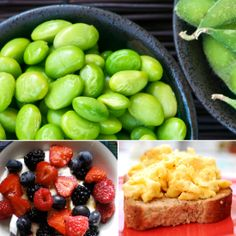 Six Snacks With 10 Grams of Protein or More    Depending on your weight and activity level, a woman needs between 40 and 60 grams of protein daily. Sometimes it can be difficult to meet your protein quota in meals alone, so here are some snack ideas with at least 10 grams of protein.