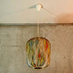 Vintage. Ceiling lamp. 1950 - 1955.