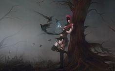Witch of the Wilds by Blinck.deviantart.com on @deviantART