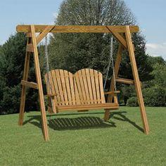 wood swings wood swing frame