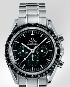 Omega Speedmaster Professional (the moon watch). Would love one of these but the prices have gone crazy since the 50th anniversary