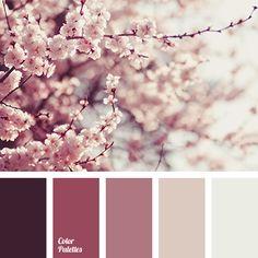 Risultati immagini per pink and purple color palette Colour Pallette, Colour Schemes, Color Combinations, Old Rose Color Palette, Pink Color Palettes, Bedroom Color Palettes, Decorating Color Schemes, Spring Color Palette, Pink Palette