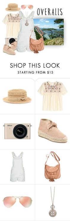 """""""Overalls"""" by lence-59 ❤ liked on Polyvore featuring Bebe, Nikon, rag & bone, Topshop, Vanessa Bruno, Ray-Ban, Zad, TrickyTrend and overalls"""