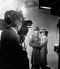 8x10 Print Humphrey Bogart Ingrid Bergman Casablanca 1943 #HB22