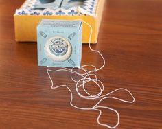 Linen thread packaging