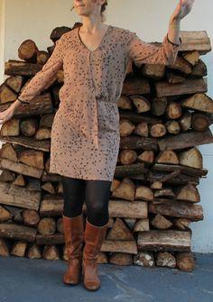 Robe 5D du Burda Couture Facile Automne Hiver 2013