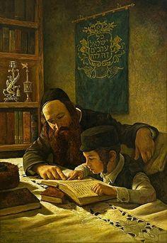 Boris Dubrov Oil on Canvas Cultura Judaica, Arte Judaica, Emo Love, High Renaissance, Vintage School, Jewish Art, Great Artists, Monet, Art Gallery