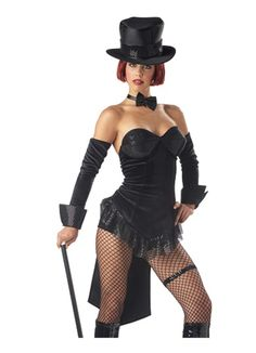 Sexy Ring Master Adult Womens Halloween Costume