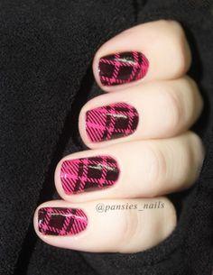stamping nail art Qa96
