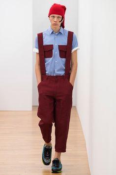 Comme des Garçons Shirt Spring 2018 Menswear Fashion Show Collection