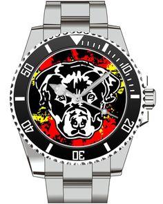 Rottweiler Uhr Kiesenberg ® Uhr 2634 von UHR63 auf Etsy